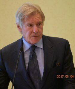 Harrison Ford at ACONE Cabot Award Ceremony Sunday